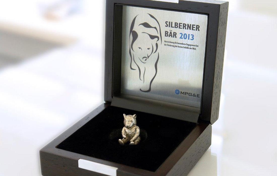 optik hippchen wurde mit dem Silbernen Bären ausgezeichnet