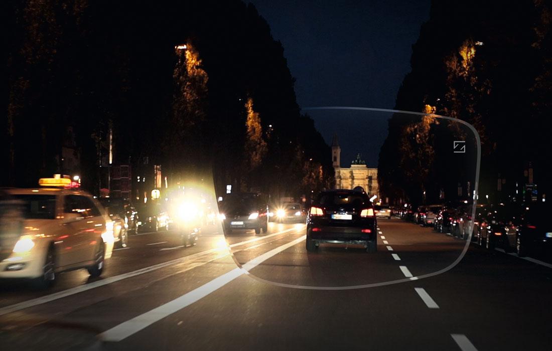 Autofahrerbrille: Schärfer sehen beim Autofahren und in der Dämmerung oder Dunkelheit