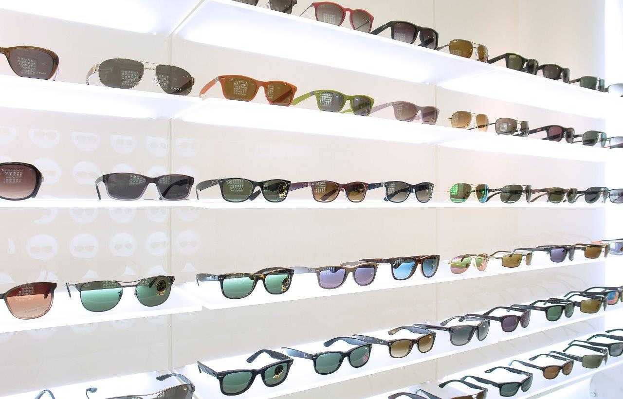 Modische Brillen mit hochwertigem UV-Schutz