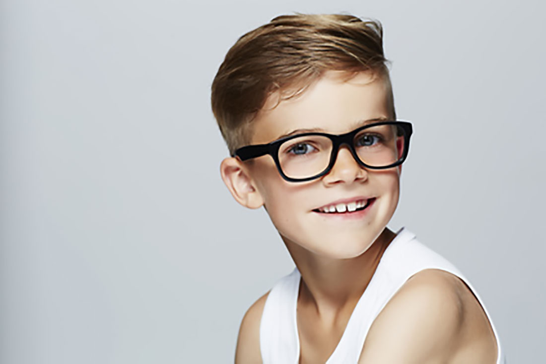 Kinderbrillen halten viel aus.