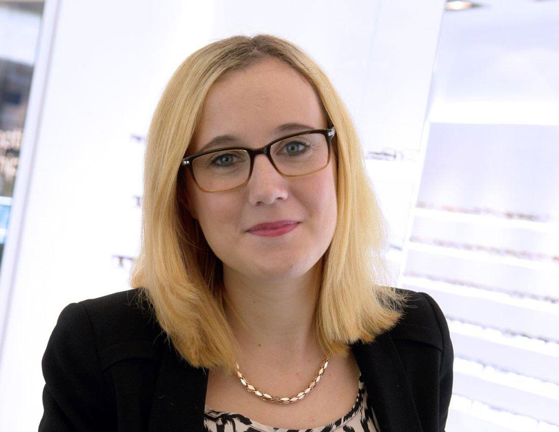 optik hippchen Annika Mohr Zeiss Seh-Analyse Expertin